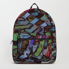 Abstract Meandering Backpack
