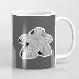 Giant White Meeple Coffee Mug