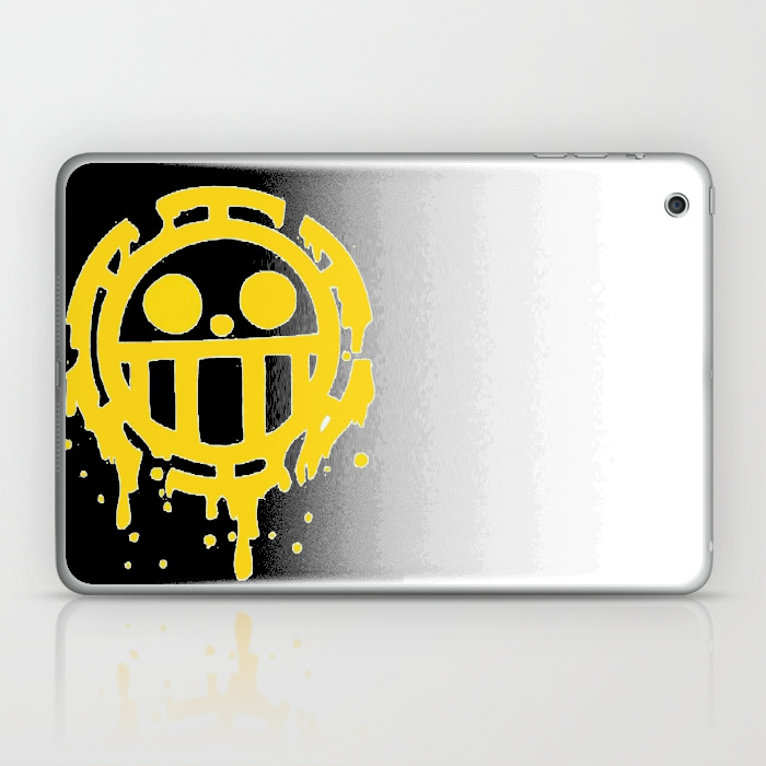 Heart Pirates Trafalgar Law One Piece Laptop & Ipad Skin by Carera LSK7900100