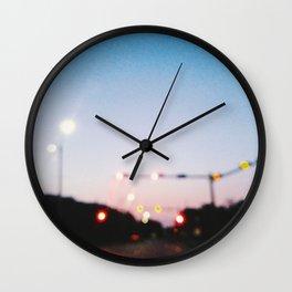 Ambient Streets (NOLA) Wall Clock