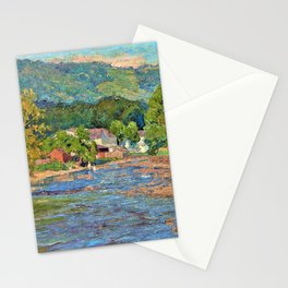 Landscape 1899 - Theodore Clement Steele Stationery Cards
