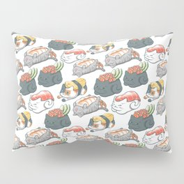 Sushi Cats Pillow Sham