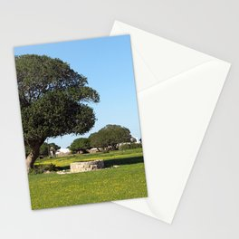 Tree Farm Green Meadows Spring Landscape, South Africa Stationery Cards