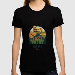 Rome Rome Roma Italy T-shirt