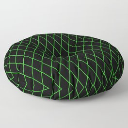 Sly Fox Green Floor Pillow