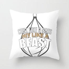 Kickboxing Gift Idea Throw Pillow