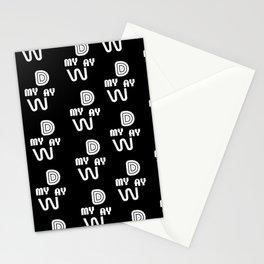 My Day My Way Stationery Cards