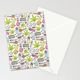Weed Mania Stationery Cards