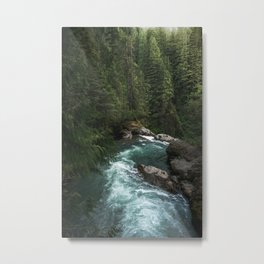 The Lost River - Pacific Northwest Metal Print