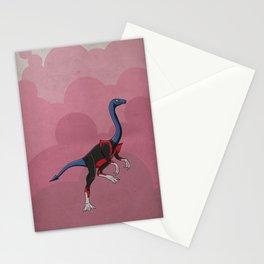 Nightcrawlimimus - Superhero Dinosaurs Series Stationery Cards