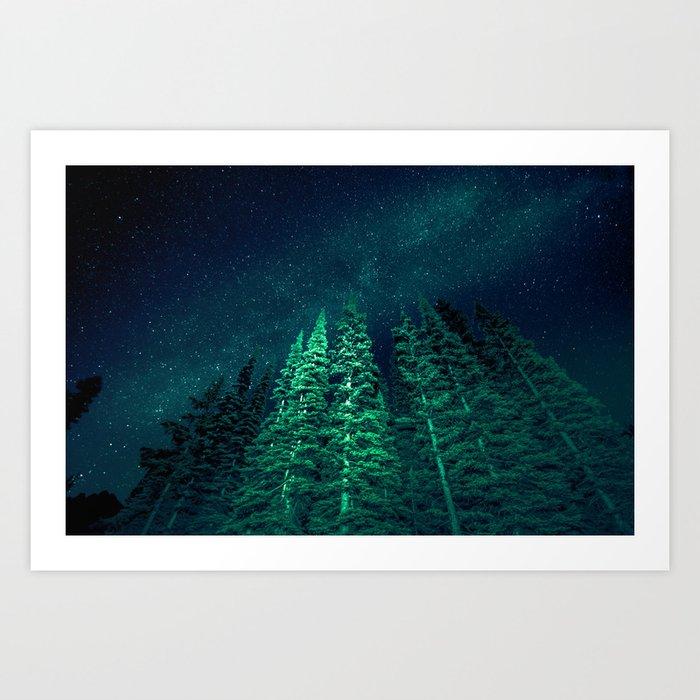 Star Signal - Nature Photography Kunstdrucke