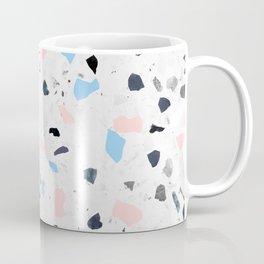 terrazzo babyblue + pink Coffee Mug