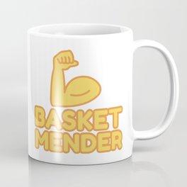 BASKET MENDER - funny job gift Coffee Mug