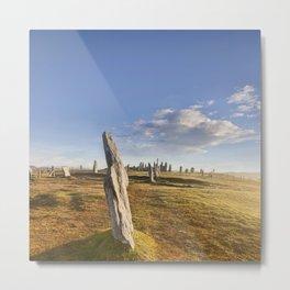 Standing Stones, Callanish Metal Print