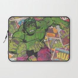 The Hulk Vintage Comic Art Laptop Sleeve