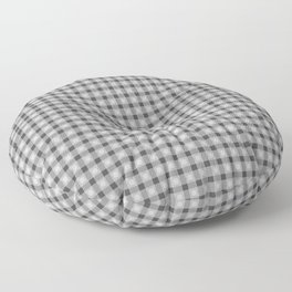 Black and white pattern. Lines. Geometric figures. Floor Pillow