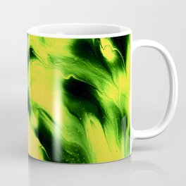 abstract psychedelic paint flow ghost face ee Coffee Mug
