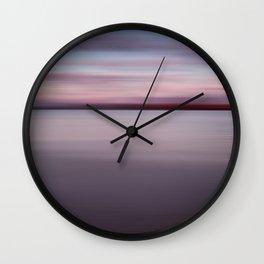 Sea and Sunset Wall Clock