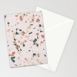 Terrazzo Peach Stationery Cards
