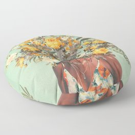 You Loved me a Thousand Summers ago Floor Pillow
