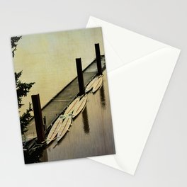 Rowing on the River Stationery Cards