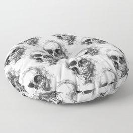 Skull No. 1 Floor Pillow