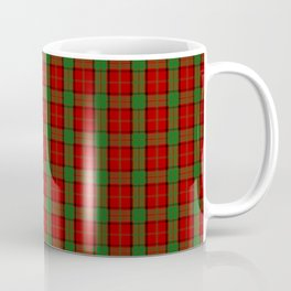 Scottish Clan Maxwell Tartan Plaid Coffee Mug