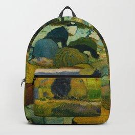 """Paul Gauguin """"Washerwomen"""" Backpack"""