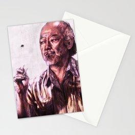 Mr. Miyagi from Karate Kid Stationery Cards