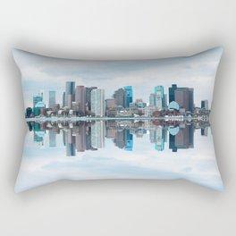 Boston reflection Rectangular Pillow