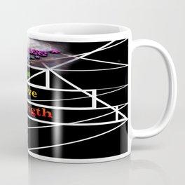 """Tri Strength Love Heal : Beez Lee Art"" Coffee Mug"