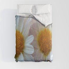 Hazy Day Daisies  Comforters