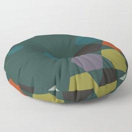 cluster || green night Floor Pillow