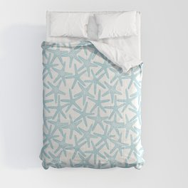 Light starfish pattern Comforters