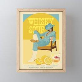 Whisky Sour Framed Mini Art Print