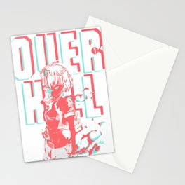 Overkill Cover Art Stationery Cards