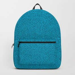 Mod Pencil Scratchy- black  turquoise Backpack