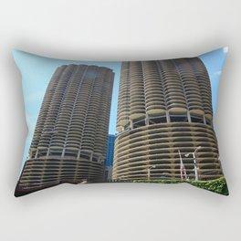 Marina City Rectangular Pillow