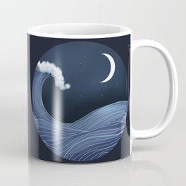 In the Ocean Waves Coffee Mug