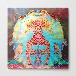 Buddha Neck 6000 Metal Print