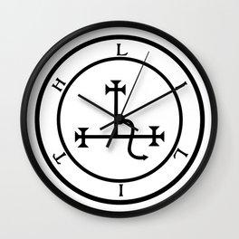 Sigil of Lilith- Female demon Lilith symbol Wall Clock
