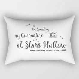 At Stars Hollow-Gilmore Girls. Rectangular Pillow
