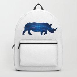 Rhinoceros in Space Backpack