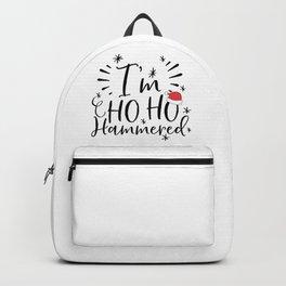 I'm Ho Ho Hammered Funny Christmas Backpack