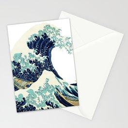 Kanagawa Japanese The great wave T shirt Stationery Cards