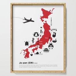 Japan (noun) Serving Tray