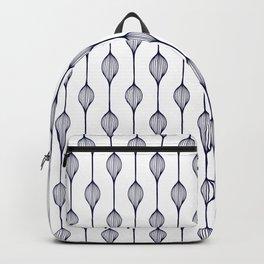 Garlands in Navy Blue Backpack