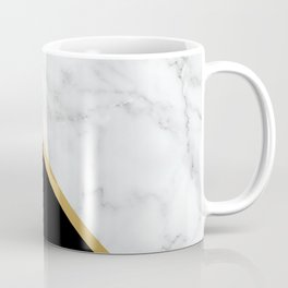 Marble, Stone, Color Block, Minimalist Art Coffee Mug