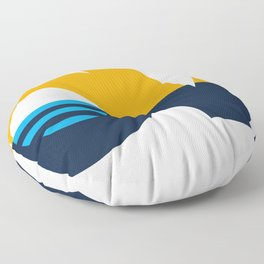 LOVE - People's Flag of Milwaukee Floor Pillow
