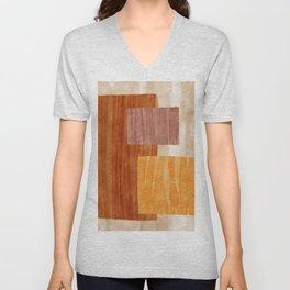 amber watercolor trio Unisex V-Neck